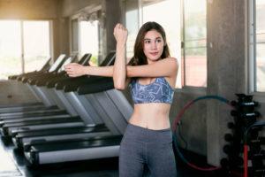 lady workout